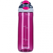 WATER BOTTLE CONTIGO CHUG BPA FREE W/AUTOSPOUT LID WITHOUT STRAW 720ML VERRY BERRY 1000-0762