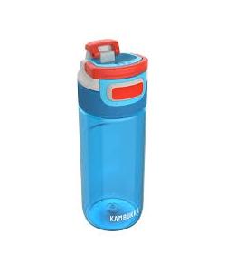 Water Bottle Kambukka Elton Bpa Free W/3In1 Snapclean Lid 500ml Caribbean 11-03001