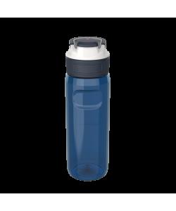 Water Bottle Kambukka Elton Bpa Free W/3In1 Snapclean Lid 750ml Midnight Blue 11-03008