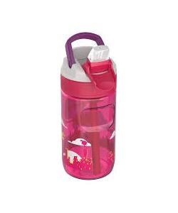 Water Bottle Kambukka Lagoon Bpa Free W/Spout Lid 400Ml Flying Supergirl 11-04015