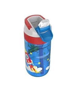 Water Bottle Kambukka Lagoon Bpa Free W/Spout Lid 500Ml Happy Alien 11-04018