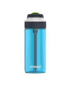Water Bottle Kambukka Lagoon Bpa Free W/Spout Lid 500Ml Topaz Blue 11-04022