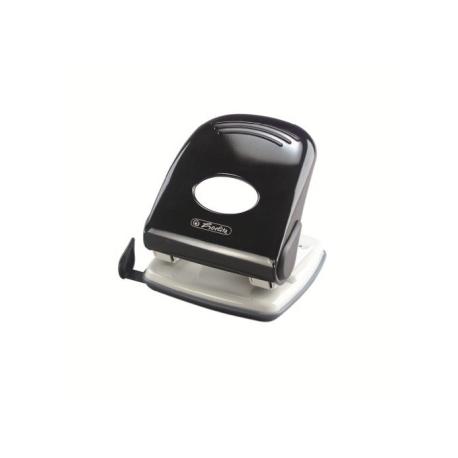 Paper Punch Desktop Herlitz 40Sh 4.0Mm 2Holes Black 1610690