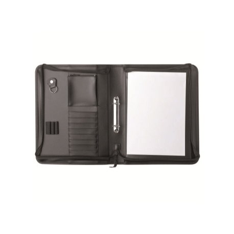 Padfolio Herlitz A4 With Ring Binder And Zipper 05641584