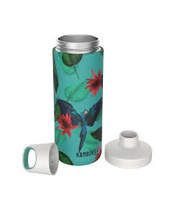 Water Bottle Kambukka Reno Insulated Stainless Steel W/Twist Lid 500Ml Parrots 11-05004