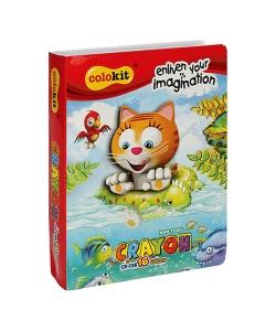 Wax Crayon Flexoffice Colokit 16/Pack Crc08