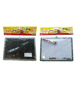 Whiteboard Flexoffice Dry-Erase Magnetic Colokit A4 Silver C-B09
