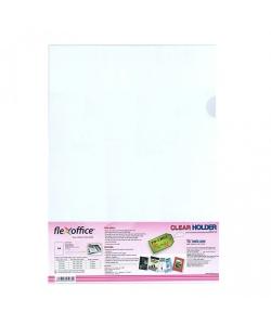 Folder Flexoffice A4 Clear 0.15mm 10/Pack Fo-Ch03
