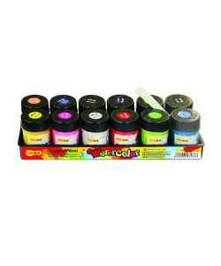 Watercolor Paint Flexoffice Colokit 12/Pack Waco-05