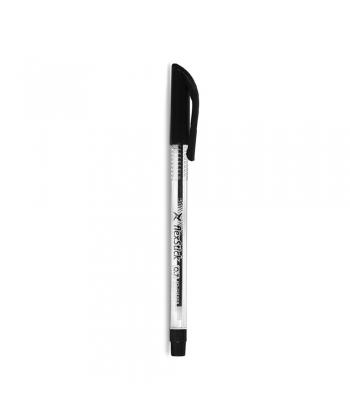 Pen Ballpoint Flexoffice Flexstick 0.7mm Black Fo-Gelb08