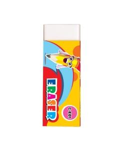 Eraser Flexoffice 61mm White C-E01