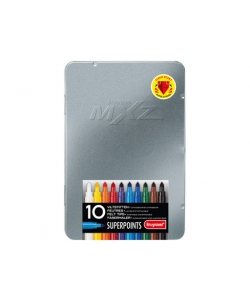 Felt Pen Bruynzeel Super Points Mxz Tin 10 Tips 3002M10