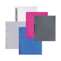 Ring Binder Herlitz Pp A4 2 Rings 19Mm Transparent 10722627