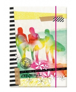 File Cardboard 3Flaps W/ Elastic O Neil Girls