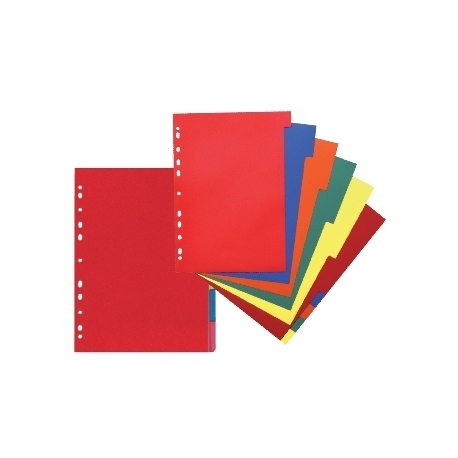 Divider Herlitz A4 Cardboard 10Tabs 230G 11078086