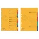 Divider Herlitz A4 Cardboard Colorspan 10Tabs 11159399