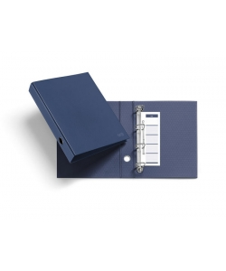 Ring Binder Mr A4 4 Rings Marine Blue