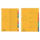 Divider Herlitz A4 Cardboard Colorspan 6Tabs 11159407